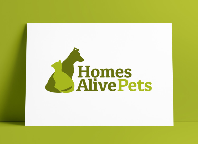 HomesAlivePets Logo & Brand Identity Case Study by The Logo Smith