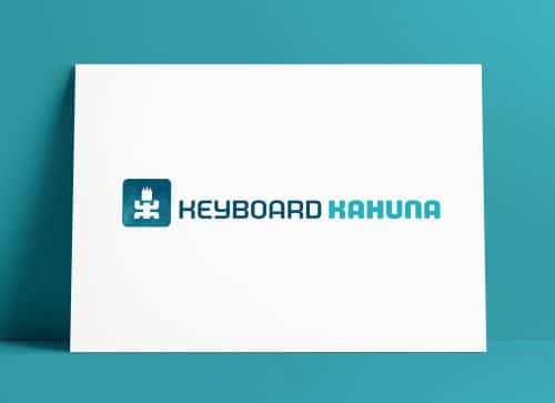 Keyboard Kahuna Case Study by The Logo Smith