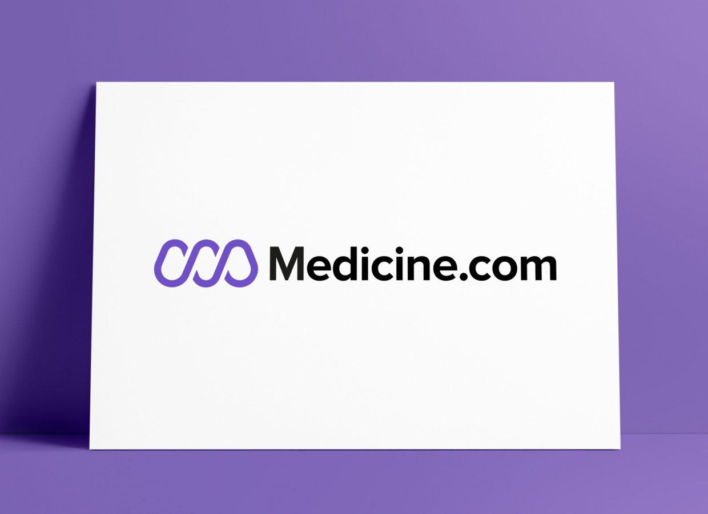 Medicine com Logo MockUp Poster Designed by The Logo Smith
