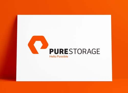 Pure Storage Logo & Brand Identity Design by The Logo Smith