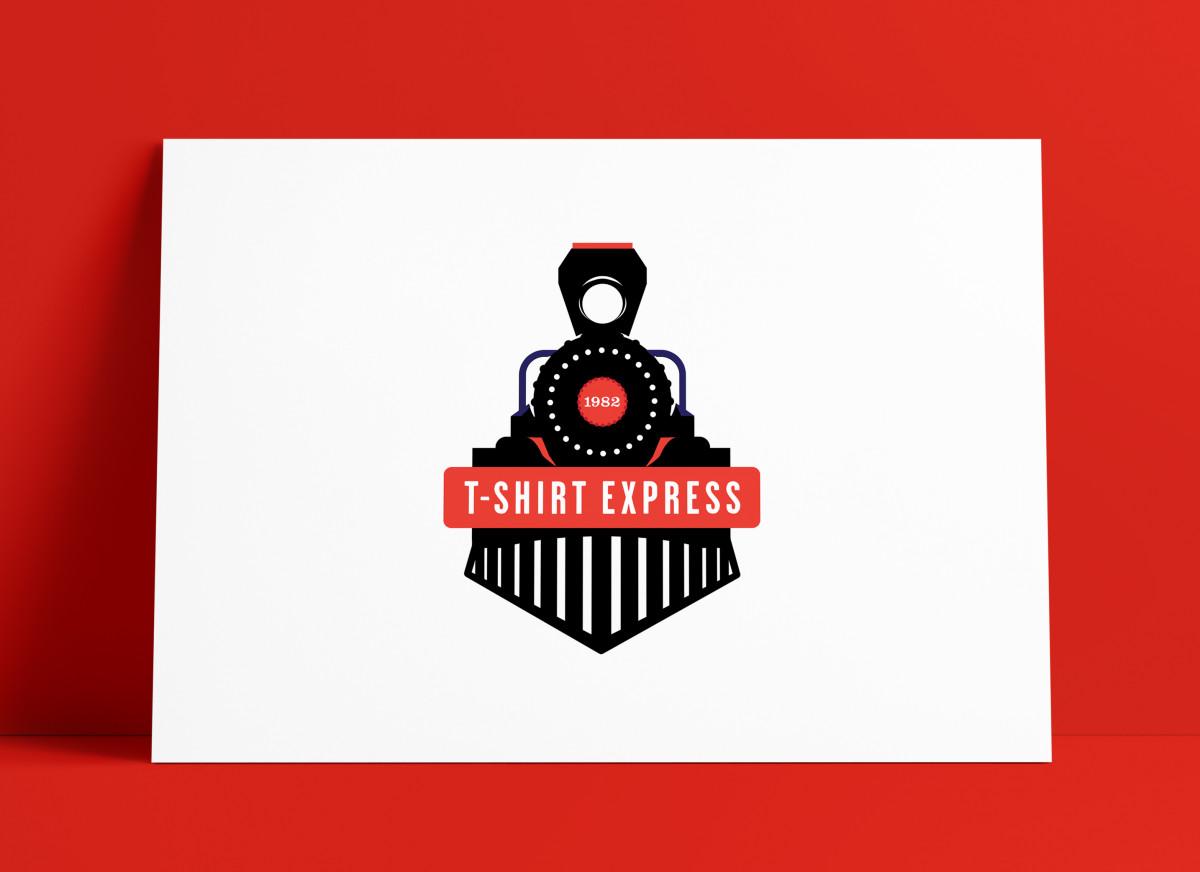 T-shire Express Ohio Logo MockUp Poster The Logo Smith