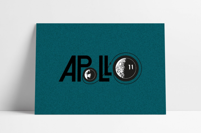 Apollo 11 Bell Aerosystems Press Kit Logo recreated by The Logo Smith