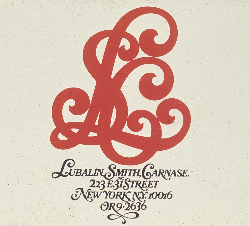 Lubalin, Smith, Canase Inc Logo Design