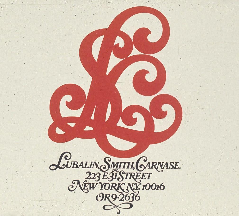 Lubalin, Smith, Canase Inc Logo Design