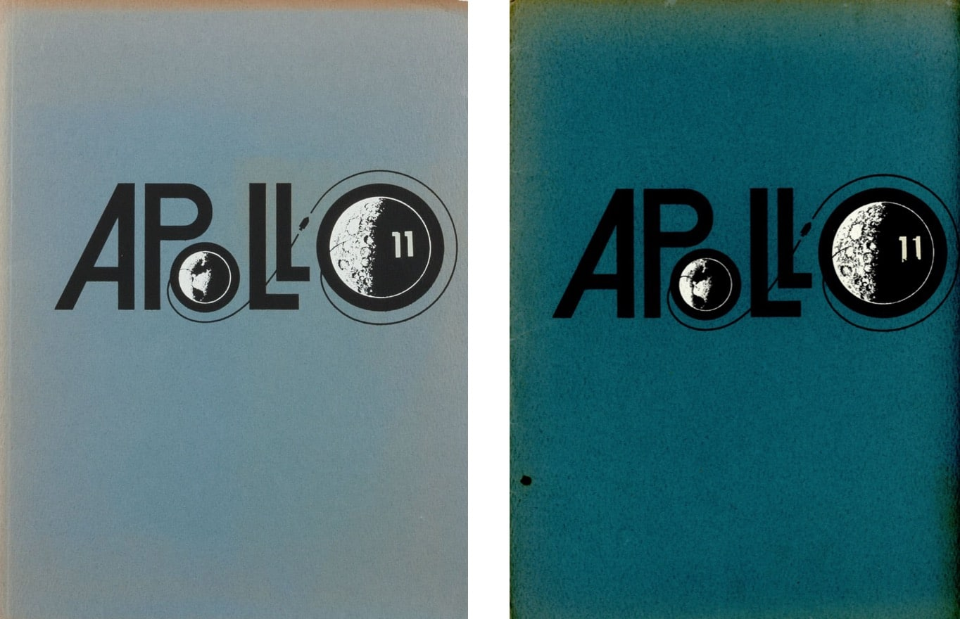 Apollo 11 Bell Aerosystems Press Kit Logo