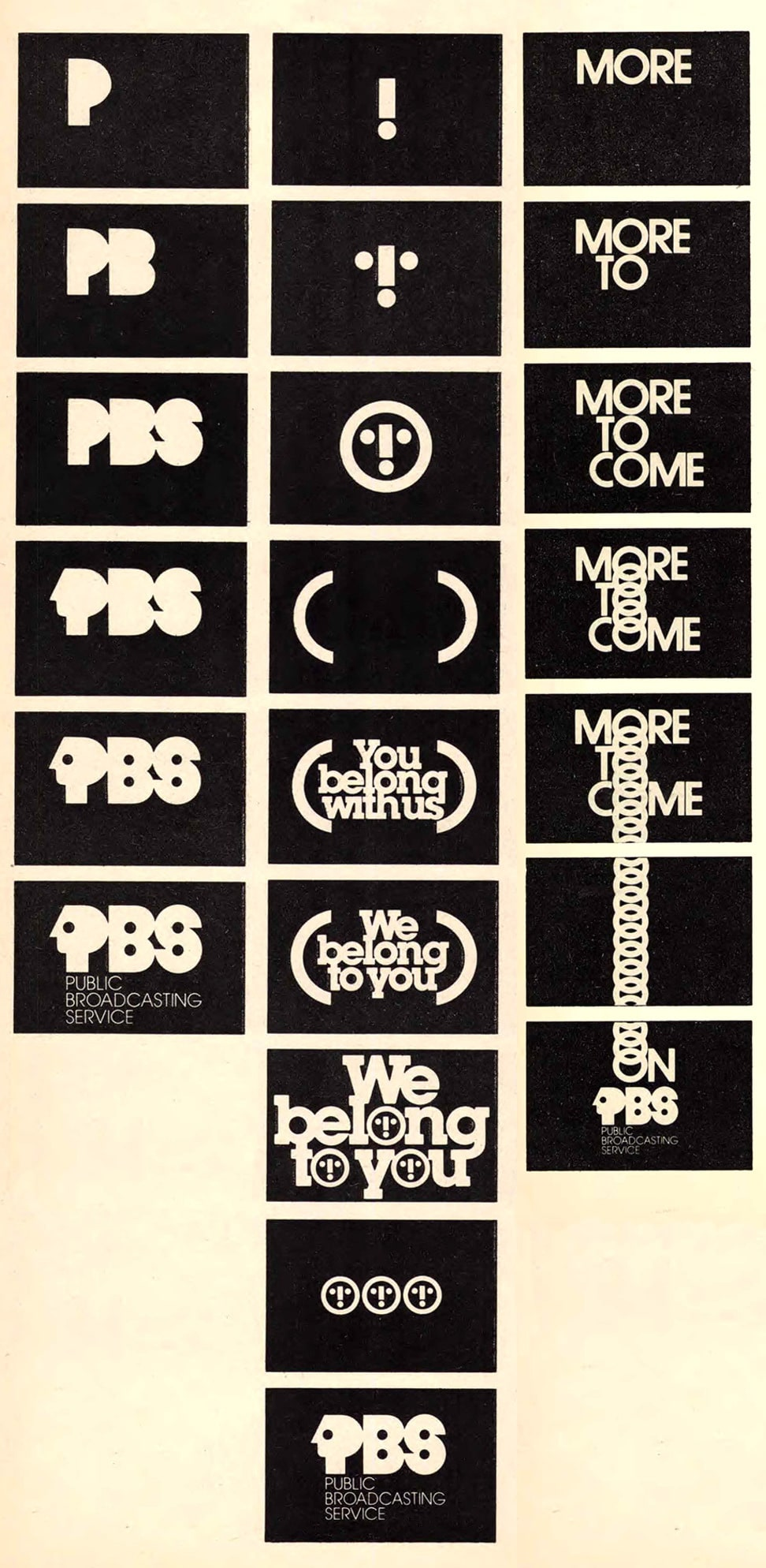 The Lost PBS Logo Animations by Lubalin, Smith, Carnase, Inc, and Animated by Edstan Studios