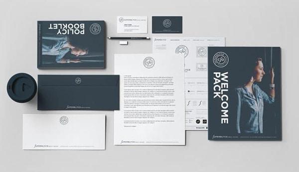 SuperblyCo Brand Identity by Freelance Logo Designer The Logo Smith
