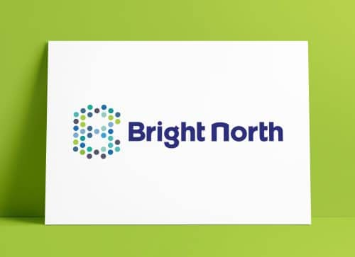 Bright North Logo Designed by The Logo Smith