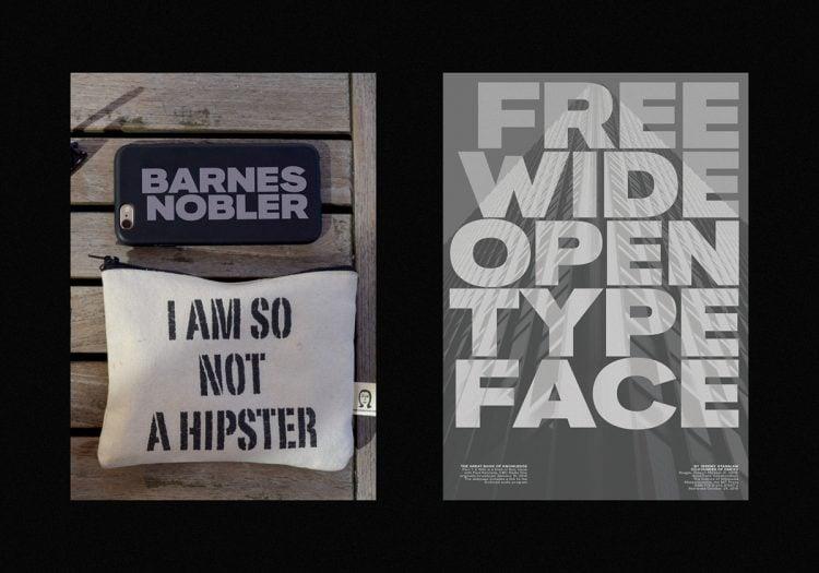 Free font by Hanken Design Co