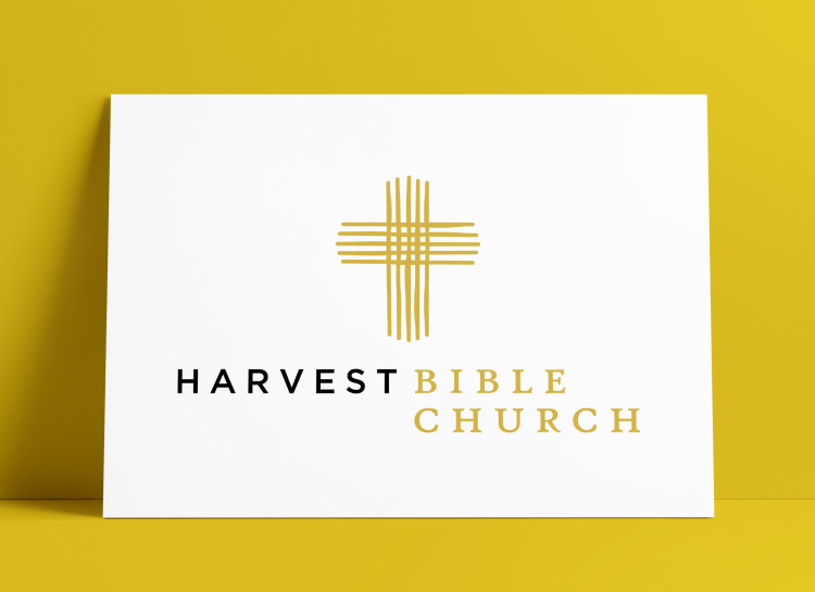 Harvest Bible Church Logo MockUp Poster The Logo Smith