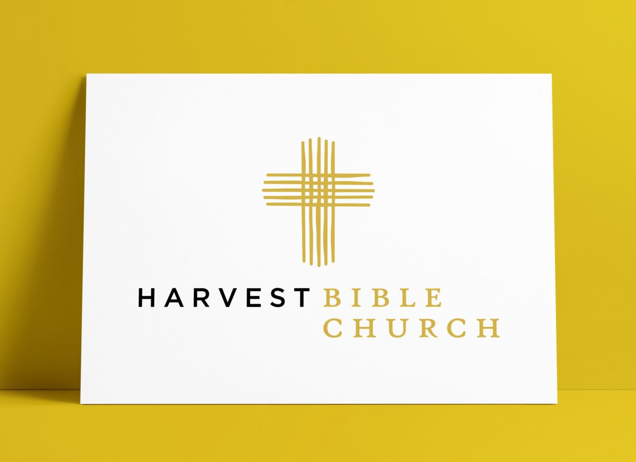 Harvest Bible Church Logo and Brand Identity Design by The Logo Smith