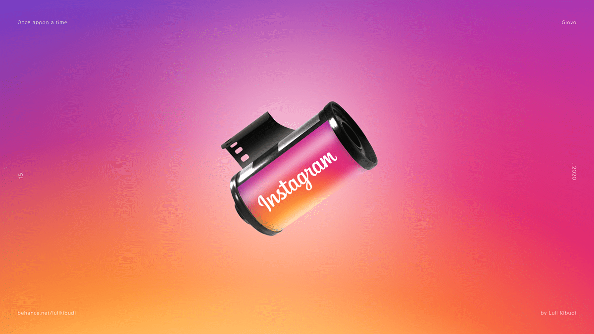 Instagram Film Roll Once Appon a Time