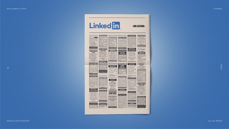 LinkedIn Once Appon a Time designed by Luli Kibudi