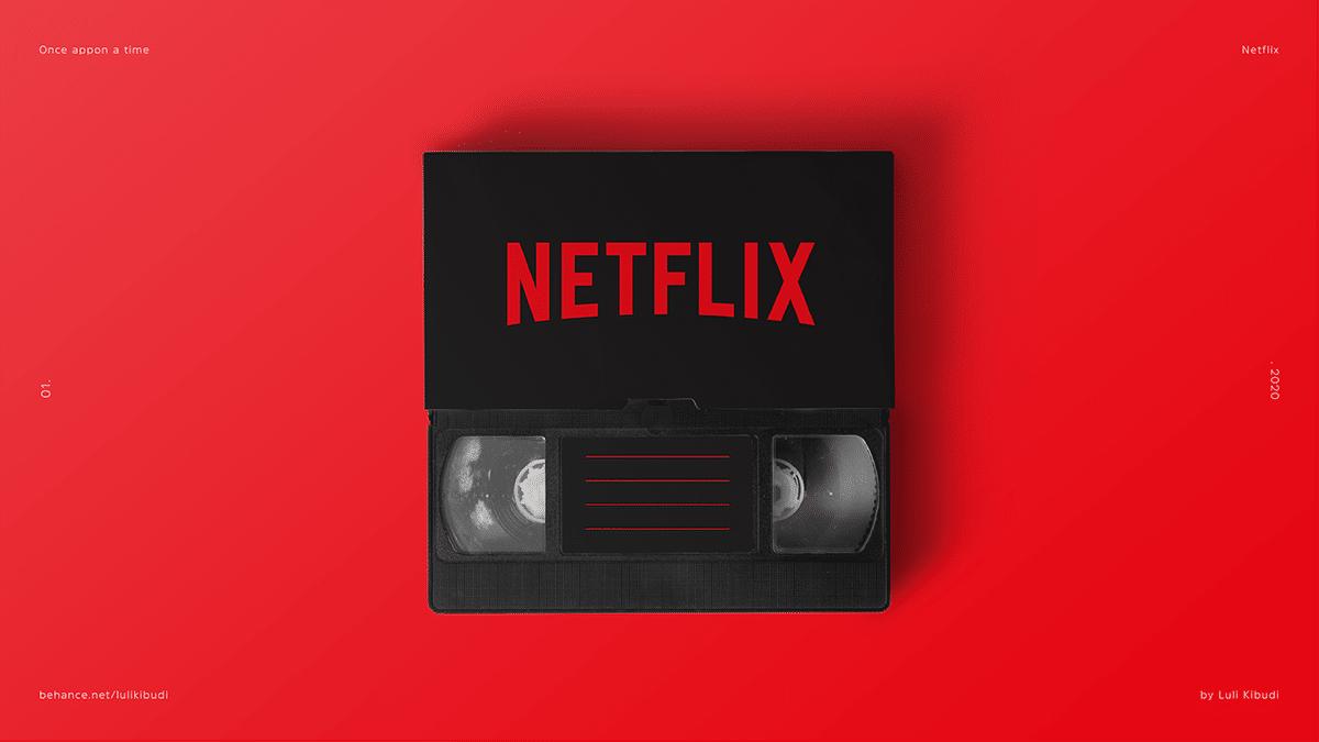 Netflix Video Cassette
