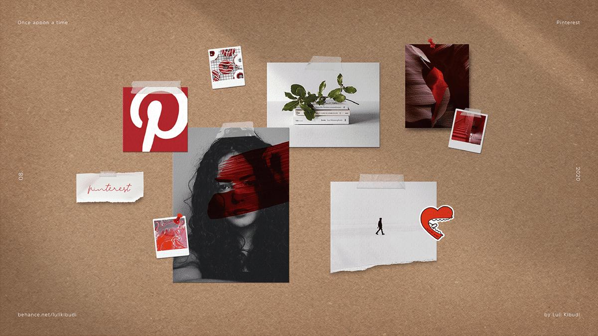 Pinterest Once Appon a Time designed by Luli Kibudi