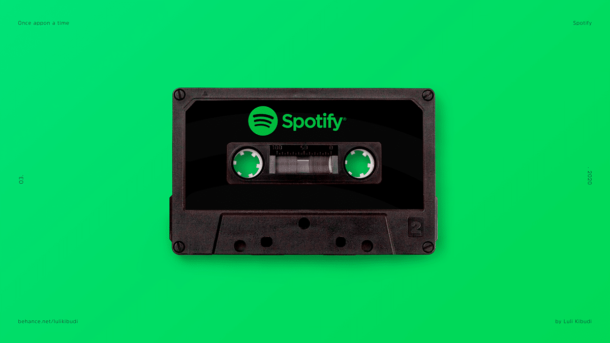 Spotify Music Cassette