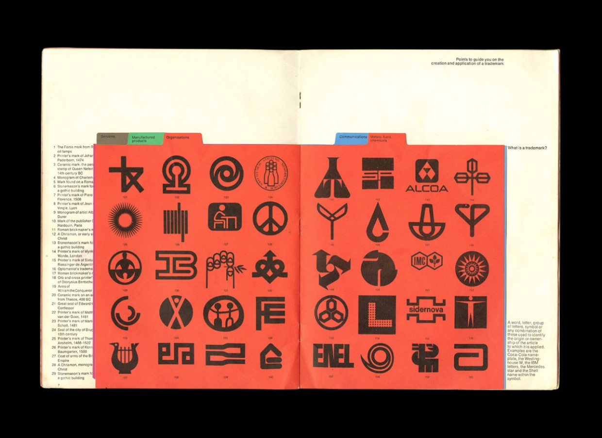 Man and His Mark - Trademarks and Company Symbols Designed by Les Mason 1970