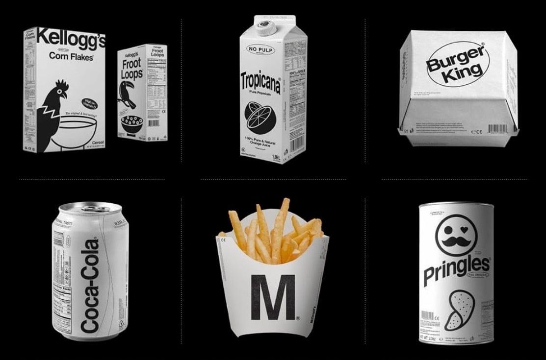 logo brand redesigned minimal monochromatic by Kunel Gaur