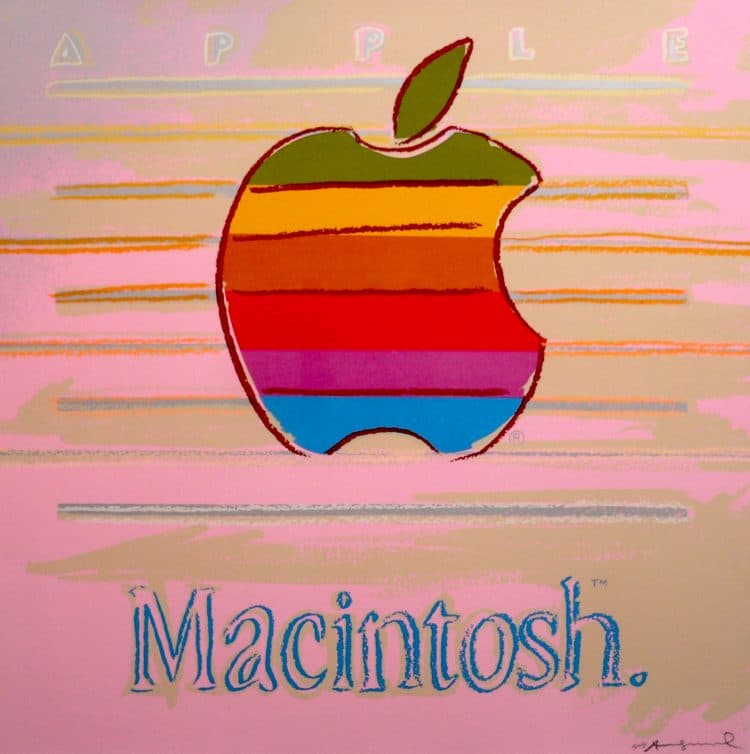 Apple (Macintosh) Ad Portfolio By Andy Warhol