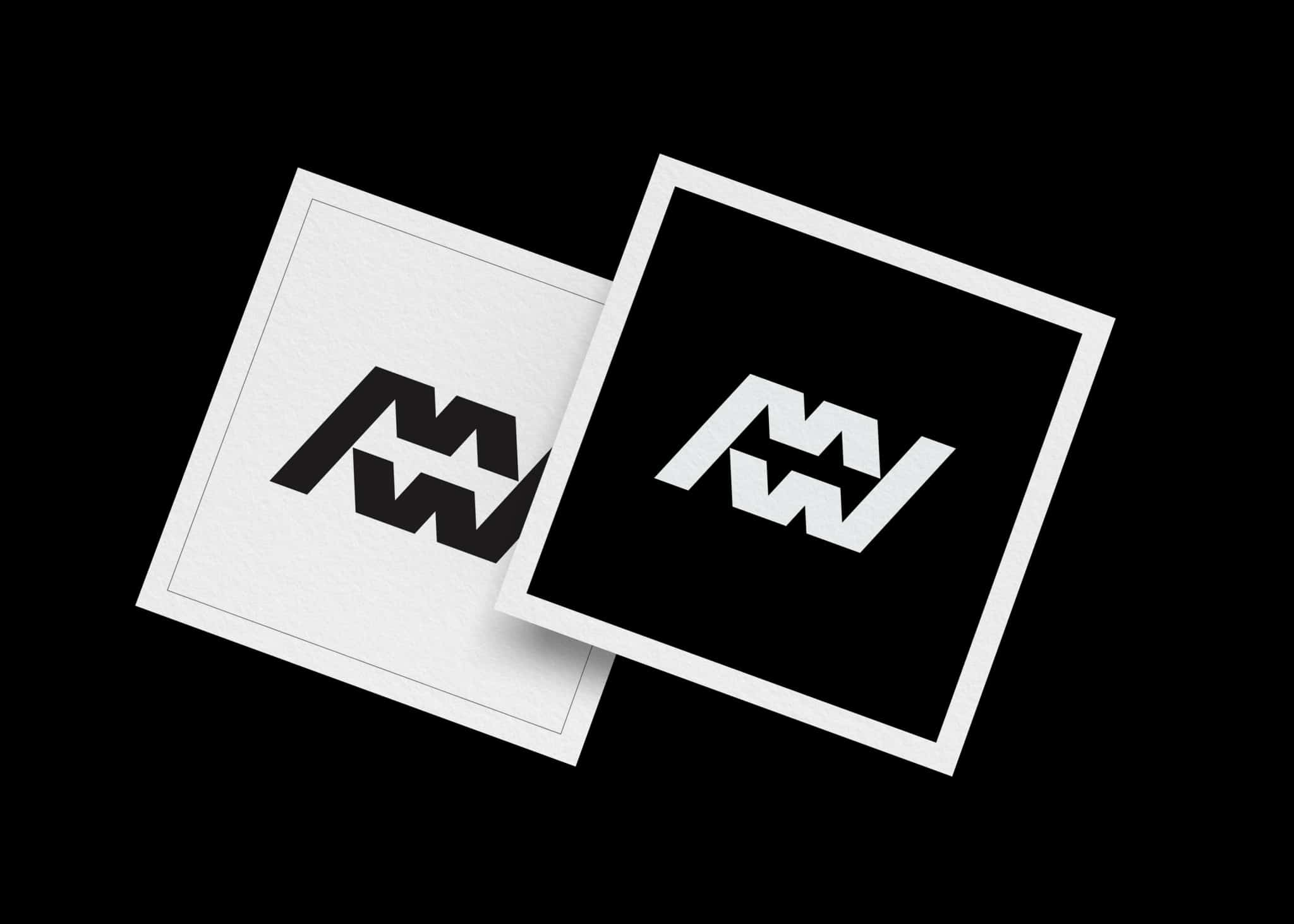 Initials M W Letters W M Logo for Sale by The Logo Smith