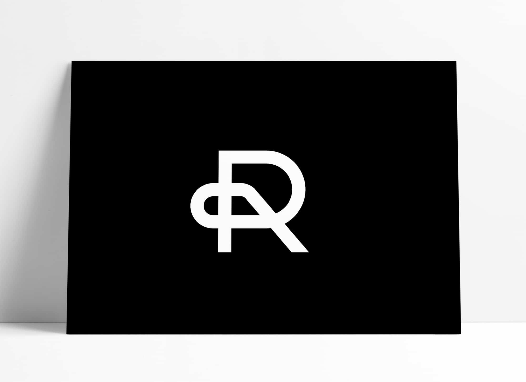 Initials R & P Logo Design for Sale Designed by The Logo Smith