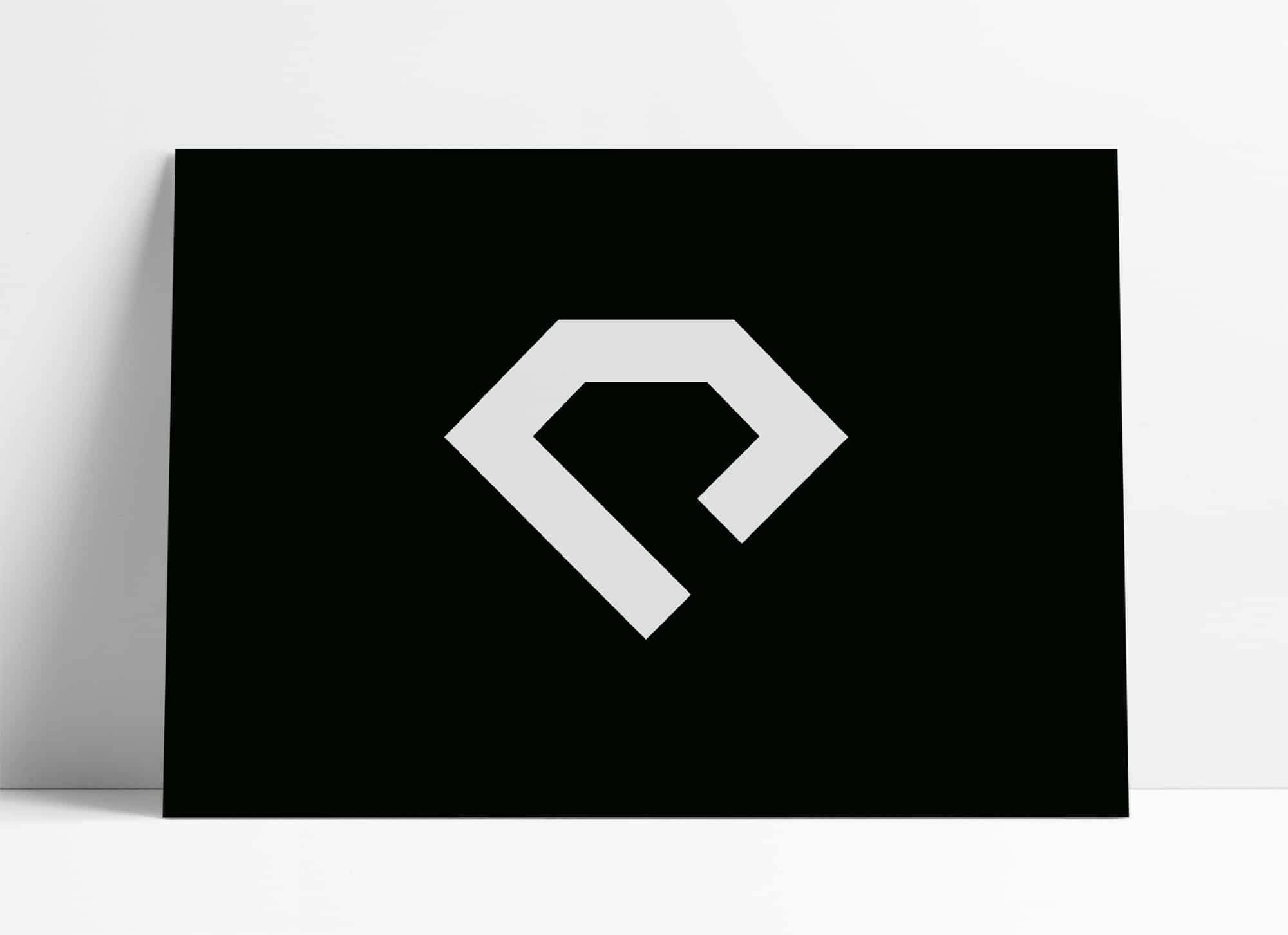 Initial P Diamond Logo for Sale Designed by The Logo Smith