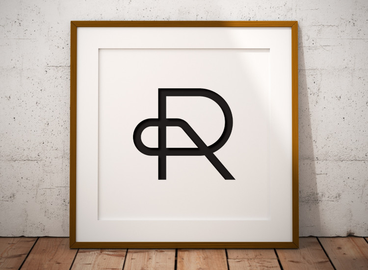 Initials Letters R P Logo Design for Sale Designed by The Logo Smith