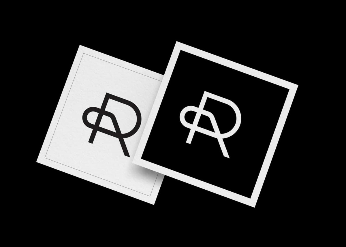 Initials & Letters R P Logo for Sale Designed by The Logo Smith