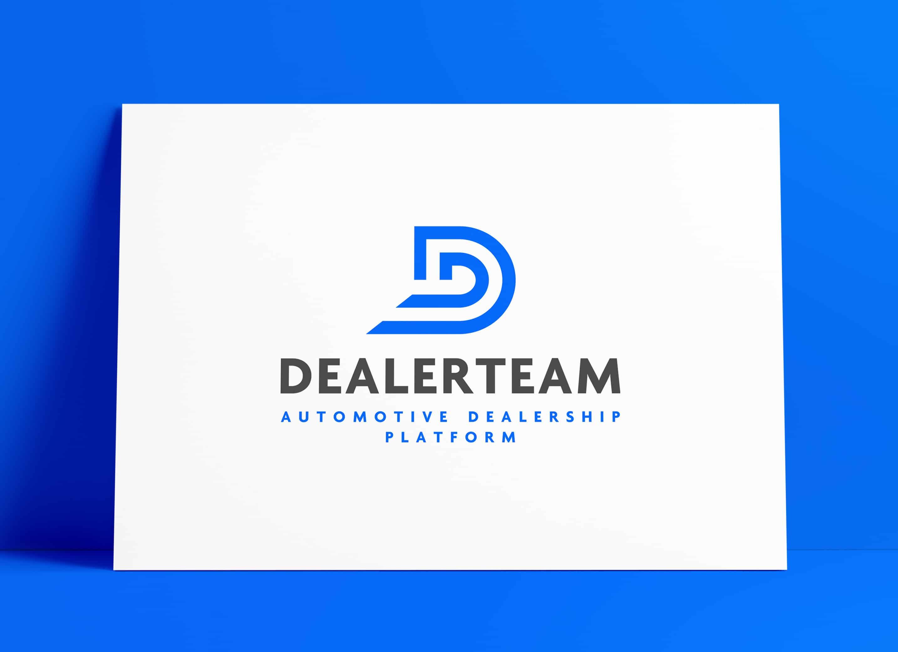 DealerTeam Automotive Logo Designed by The Logo Smith