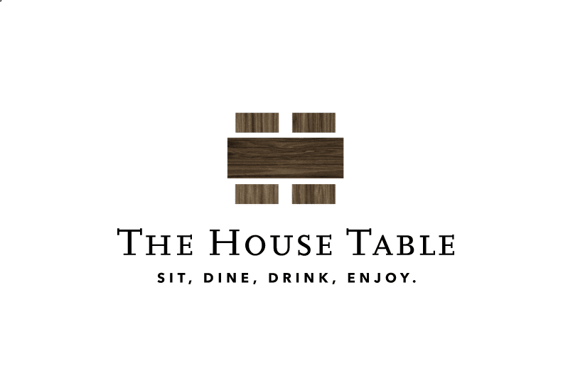 The House Table Restaurant Logo Designed by The Logo Smith