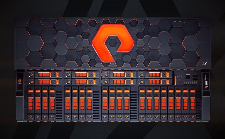 Pure Storage Logo Designed by The Logo Smith Flash ArrayX