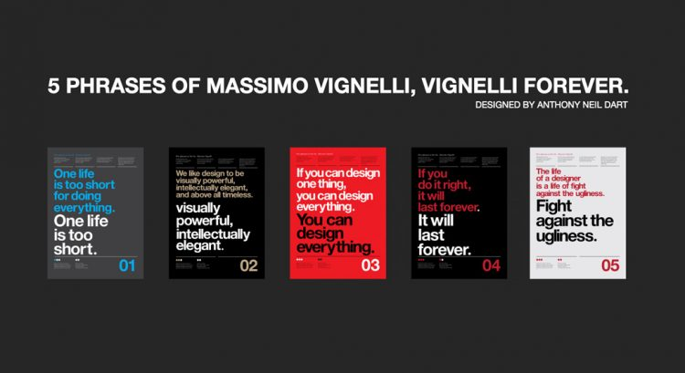 5 Phrases Of Massimo Vignelli Vignelli Forever