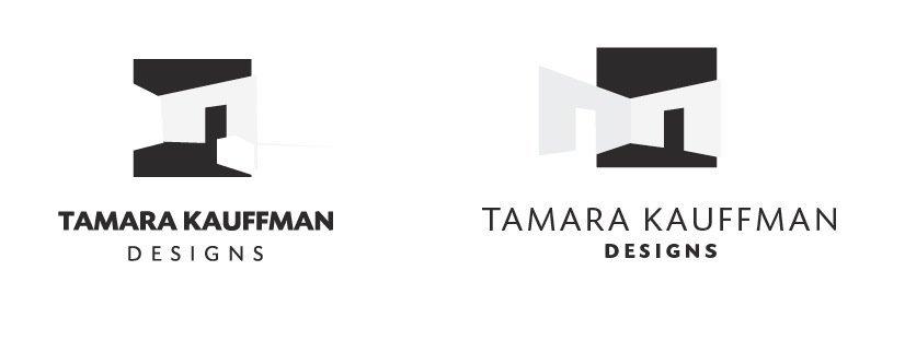Interior Design Logo Process and Case Study for Tamara Kauffman Interior Designer