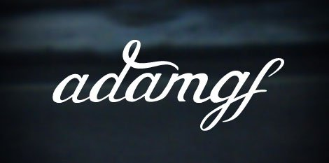adam gf logo design