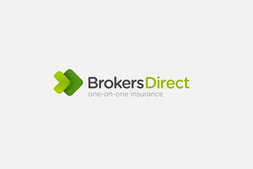 logo process � brokers direct insurance logo design