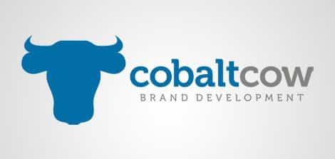 cobaltcow logo design