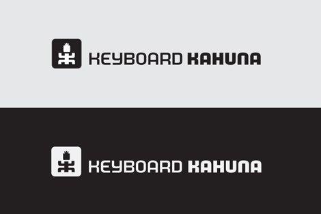 Logo Process - Keyboard Kahuna Logo Design Development