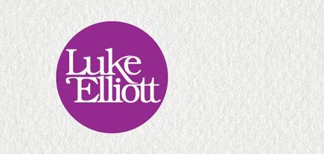 luke elliott logo design