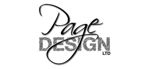 page design ltd logo design