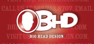 Big Head Design Logo