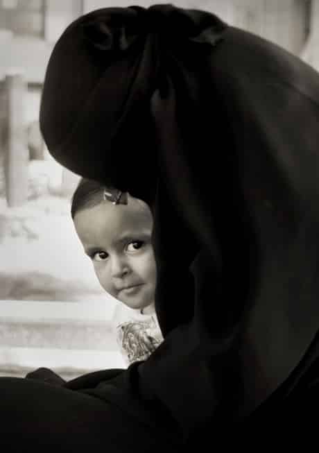 Egypt, Cairo - Mother and Child
