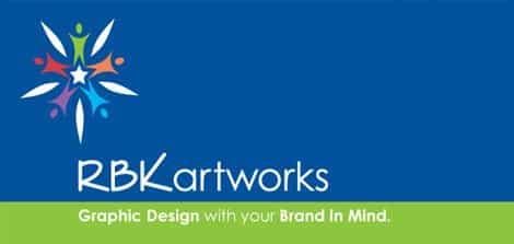 rbk artworks logo design