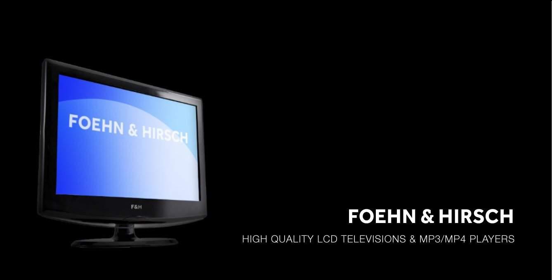 Foehn & HIrsch TV Mock-up