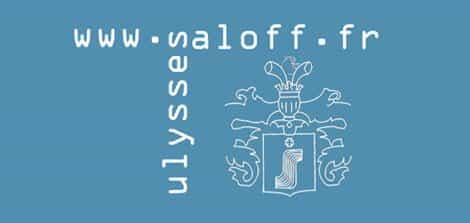 ulysses saloff logo design