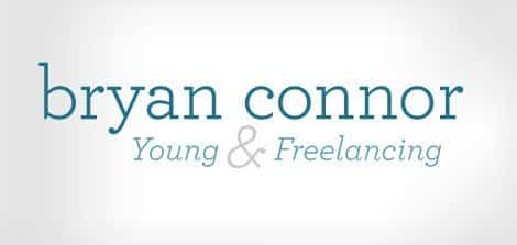 young and freelancing logo design